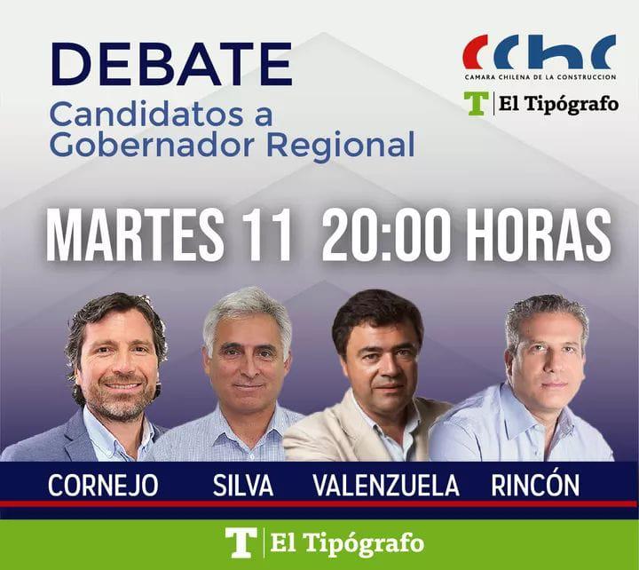 CChC Rancagua organizó exitoso debate con candidatos a gobernadores  noticias