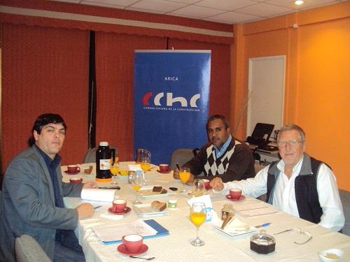 Reunión Grupo de Trabajo VII Encuentro de la <mark>Vivienda</mark> DR.Arica noticias