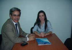 Reunión de nuestra Presidenta Jacqueline Leiva con Seremi de Medio Ambiente.  noticias