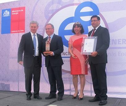 Socio GasValpo es la primera empresa de la Región en recibir el Sello de Eficiencia Energética noticias