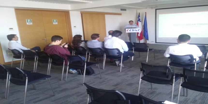 Seminario abordó alcances de la energía solar térmica noticias