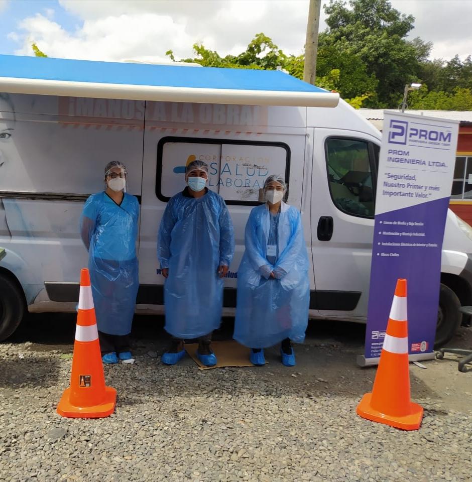 Corporación Salud Laboral de la CChC desarrolló Operativo dental en Empresa PROM noticias