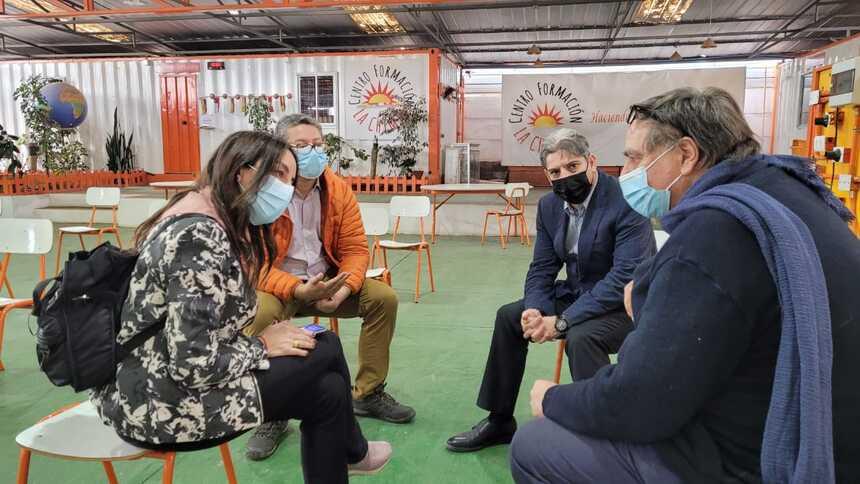 Delegación visitó Antofagasta para conocer proyecto urbano y situación de campamentos noticias