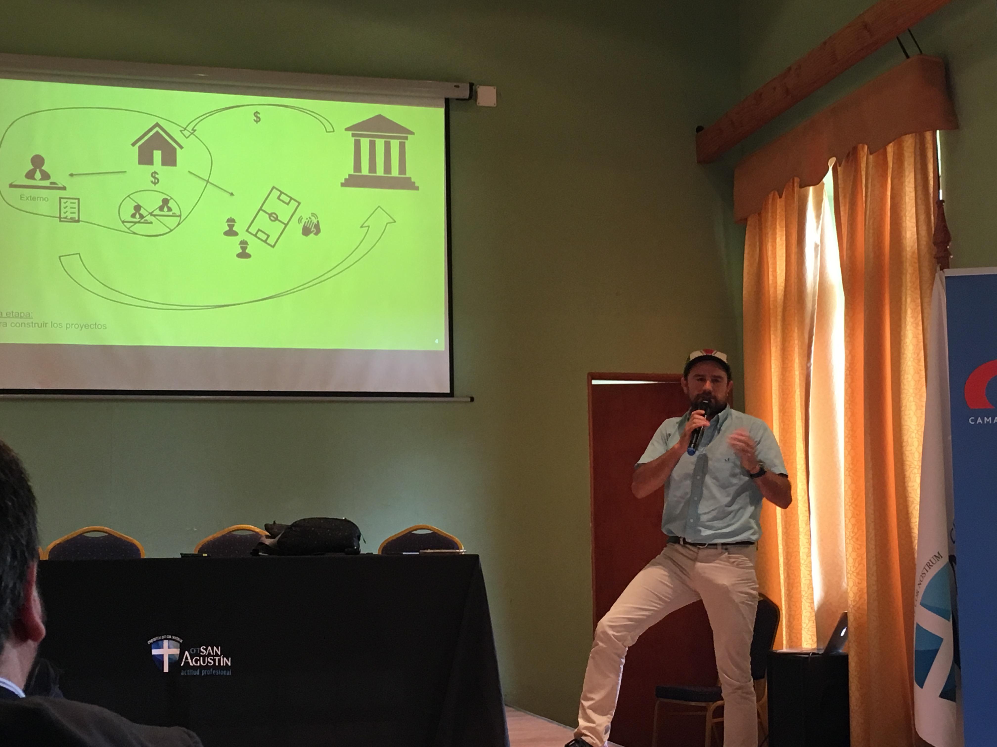 CChC Talca realiza seminario de <mark>sostenibilidad empresarial</mark> y colaboración noticias