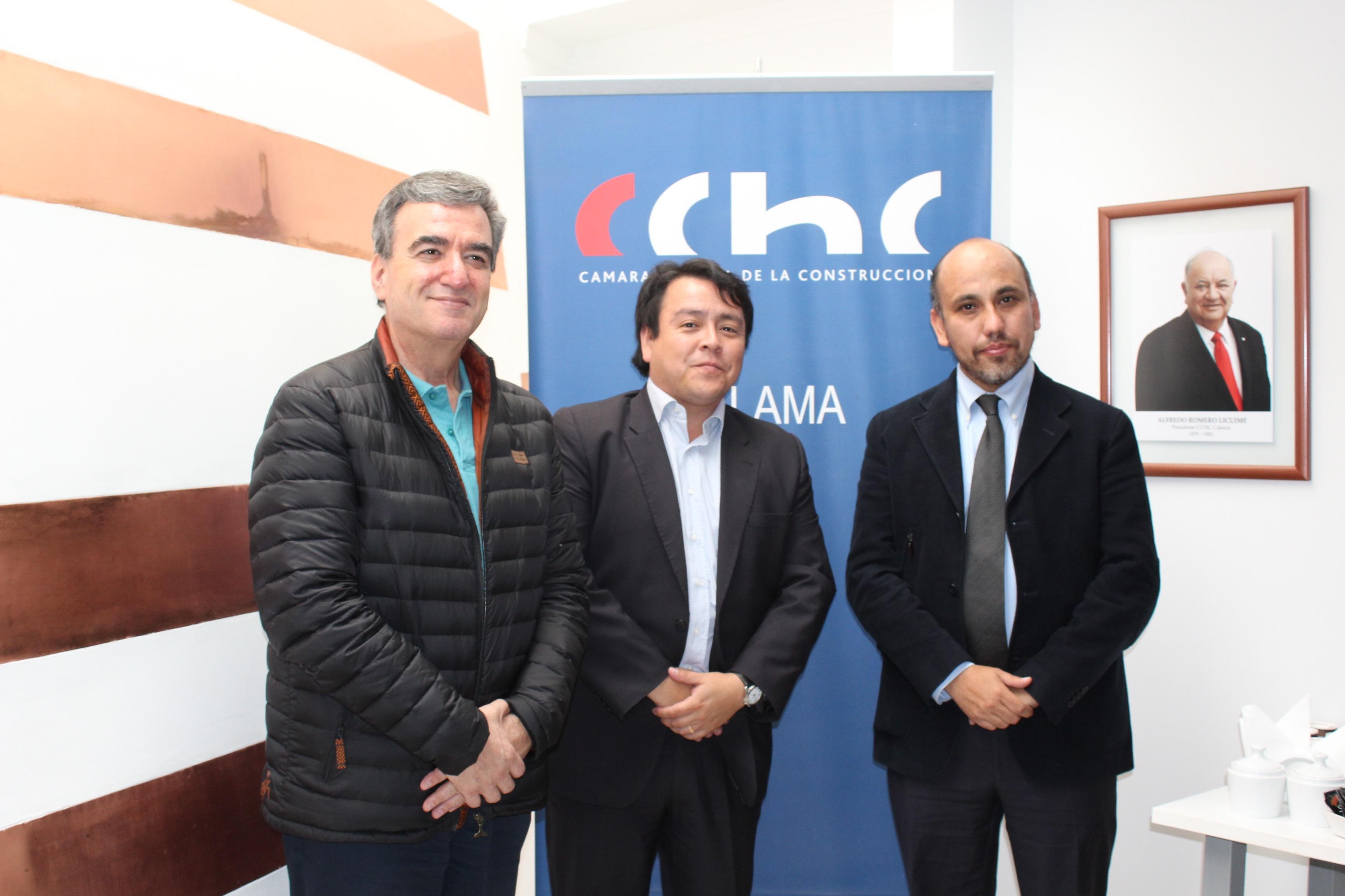 Positiva reunión de la CChC Calama y Seremi de Minería noticias
