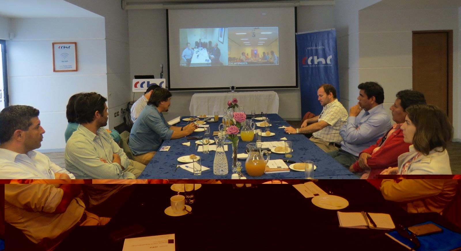 Comité de <mark>Infraestructura</mark> define grupos de trabajo internos para tratar temáticas noticias