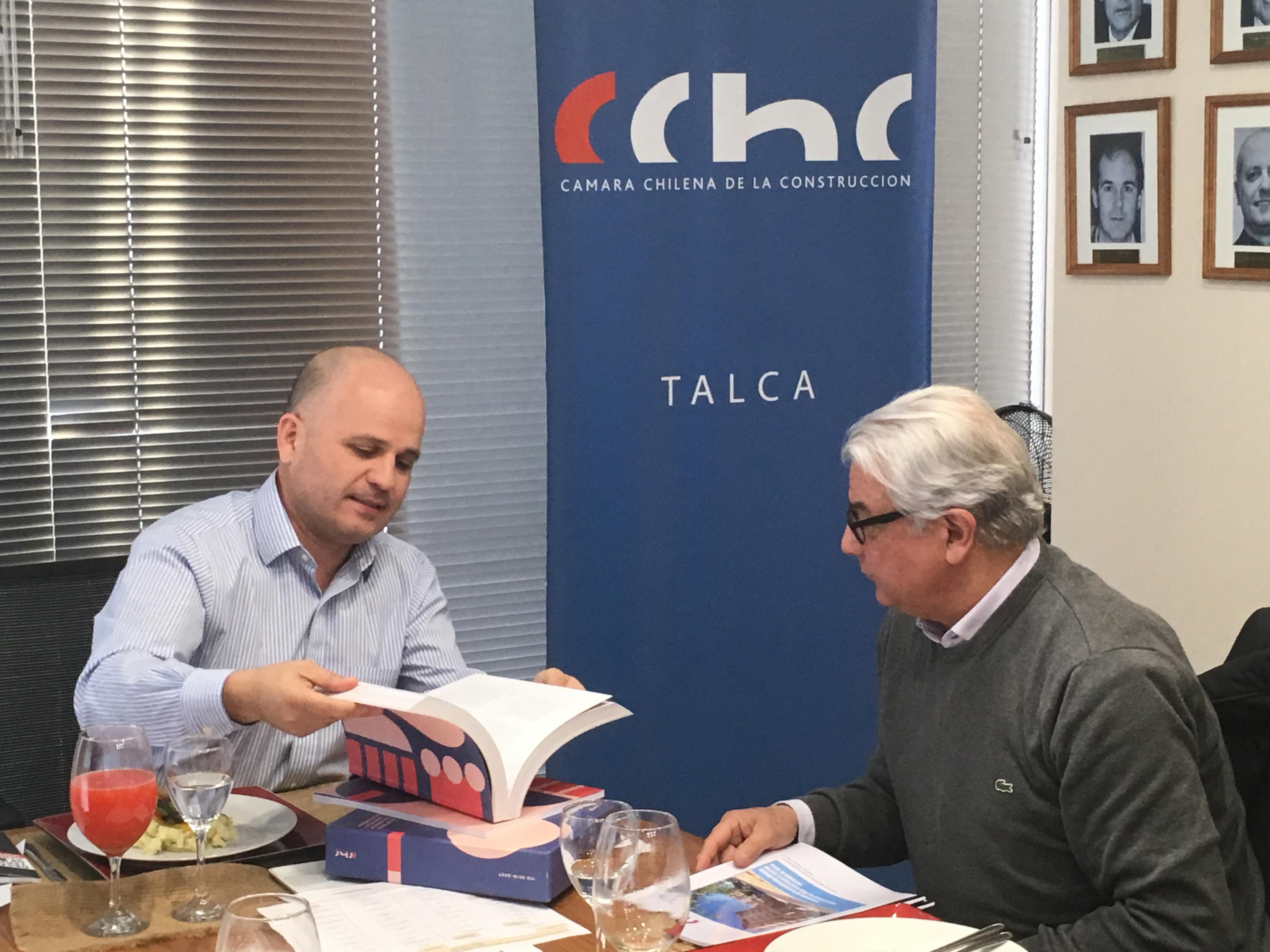 CChC Talca se reúne con diputado Naranjo para analizar <mark>infraestructura</mark> crítica para el Maule noticias
