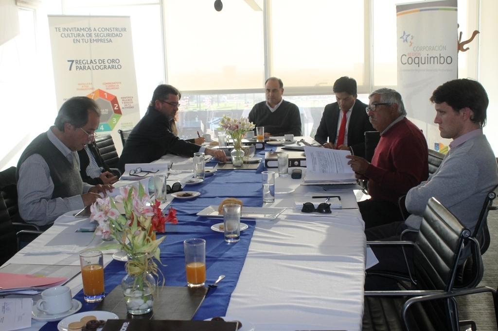 Directorio de CRDP sesiona en la sede regional de CChC La Serena noticias
