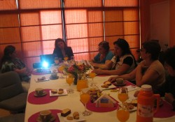 Presidenta del Comitè Red Social se reune con Colaboradoras de las empresas socias. noticias