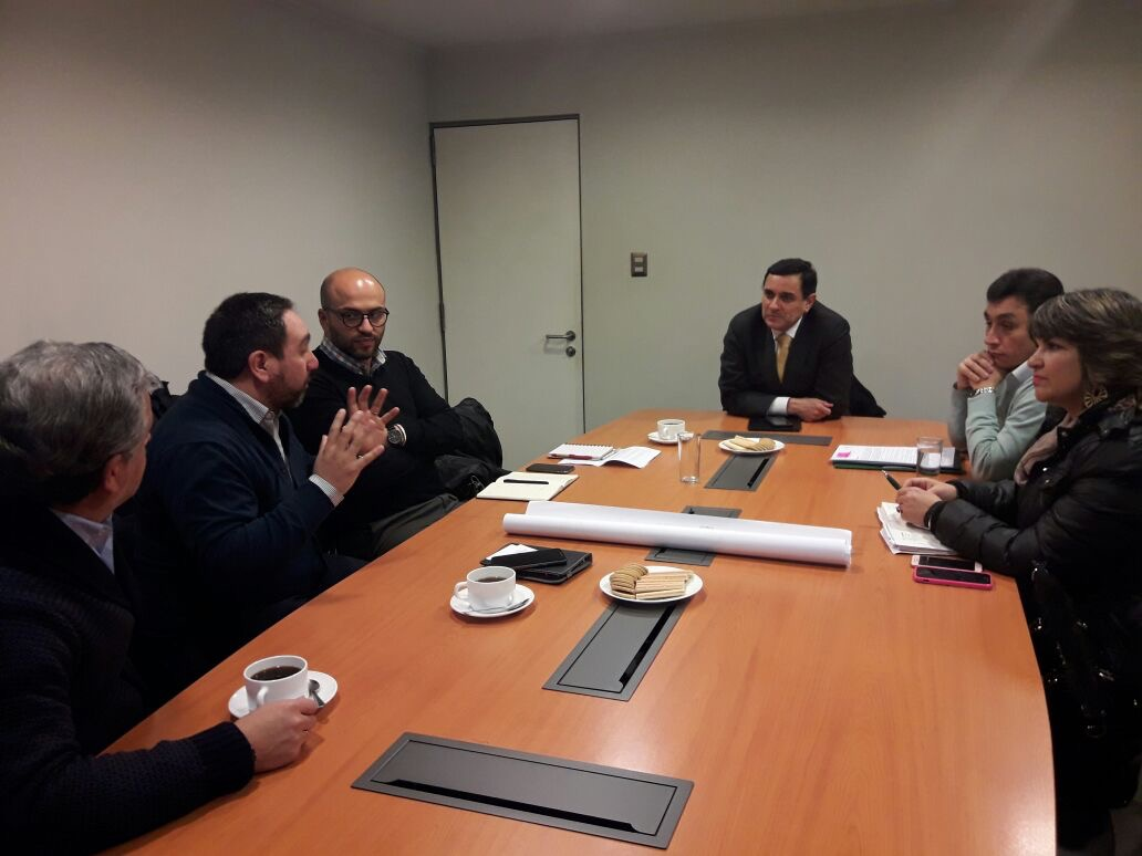 CChC Talca socializa propuestas de <mark>infraestructura</mark> vial con alcalde de Curicó noticias