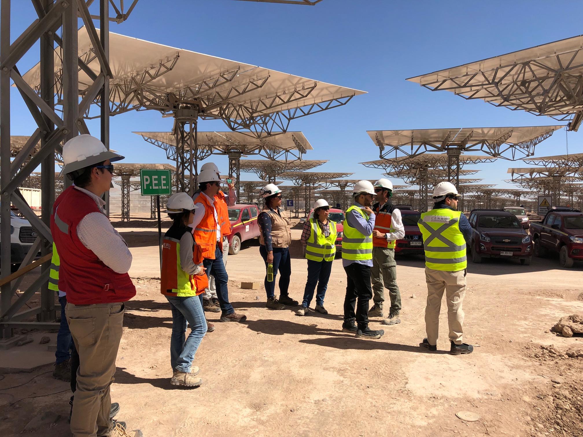 Antofagasta – Socios participaron en Visita Cruzada en Complejo Solar Cerro Dominador noticias