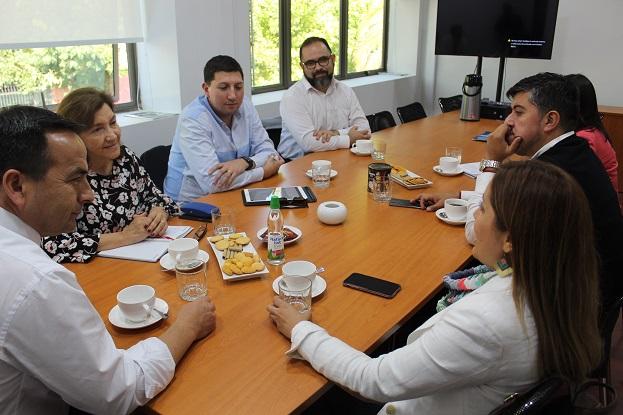 CChC Chillán y Corfo Ñuble iniciaron trabajo en marco de Plan Nacional Chile Territorio Inteligente noticias