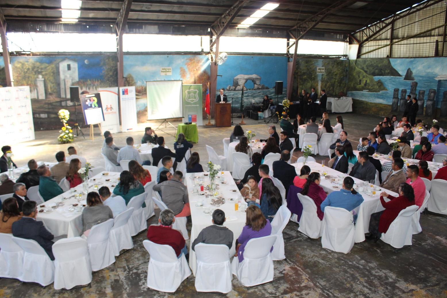 CChC Chillán participó en lanzamiento de programa de gobierno de reinserción laboral noticias