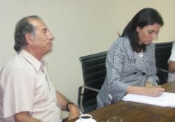 Representantes de DLS se reunieron con Pilar Giménez noticias