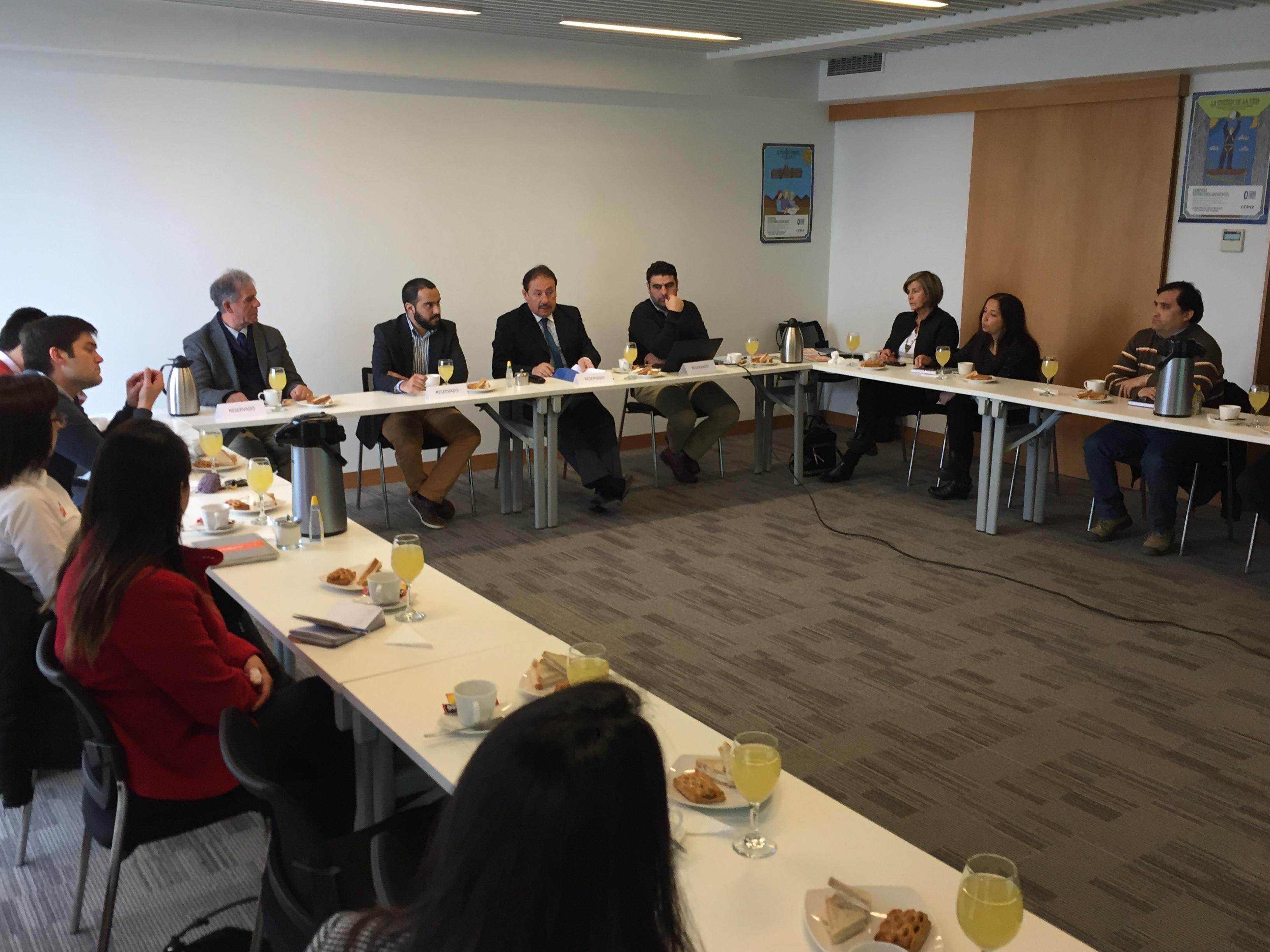 Socios de Concepción participaron en exitosa misión a Dinamarca noticias