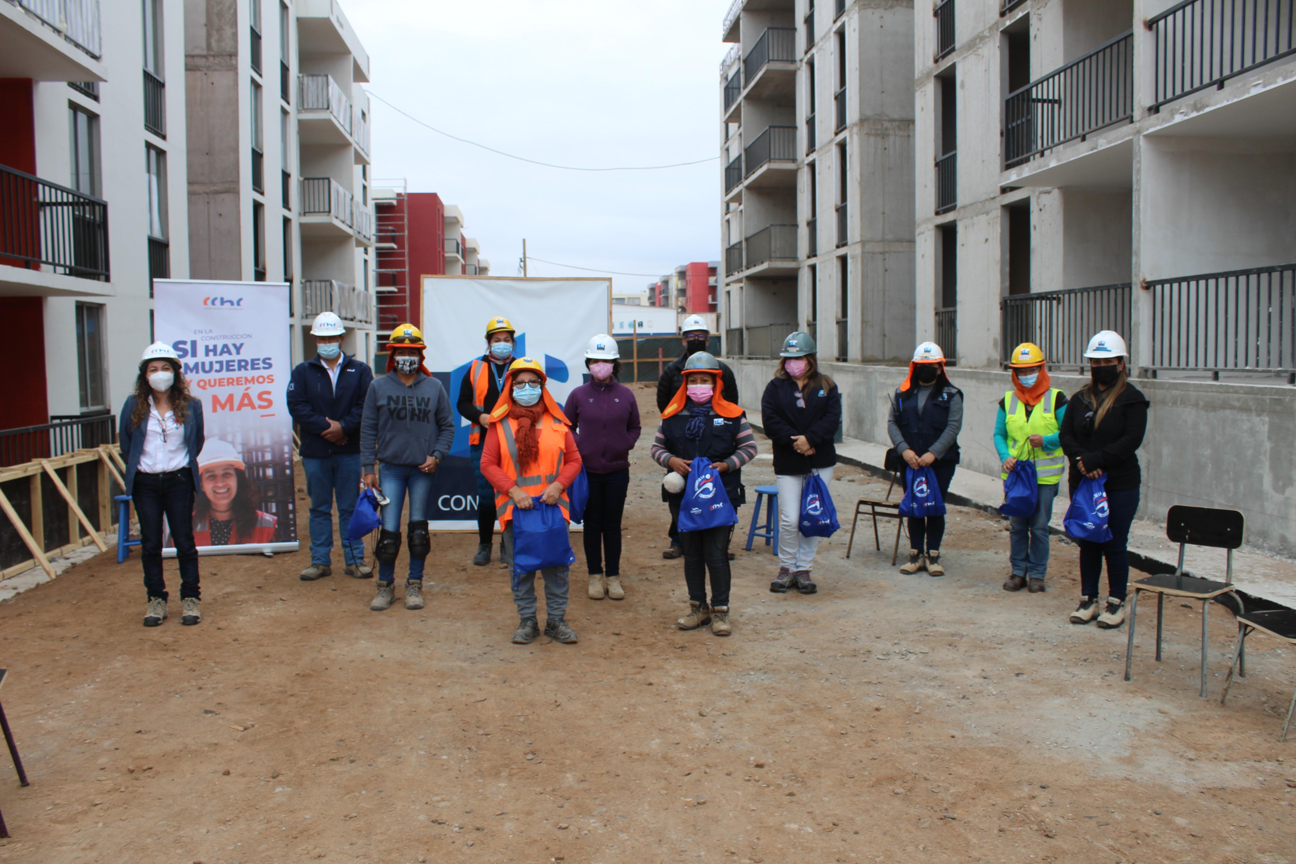"""Empresas Pacal y DyR también manifestaron: """"En la construcción sí hay mujeres"""" noticias"""