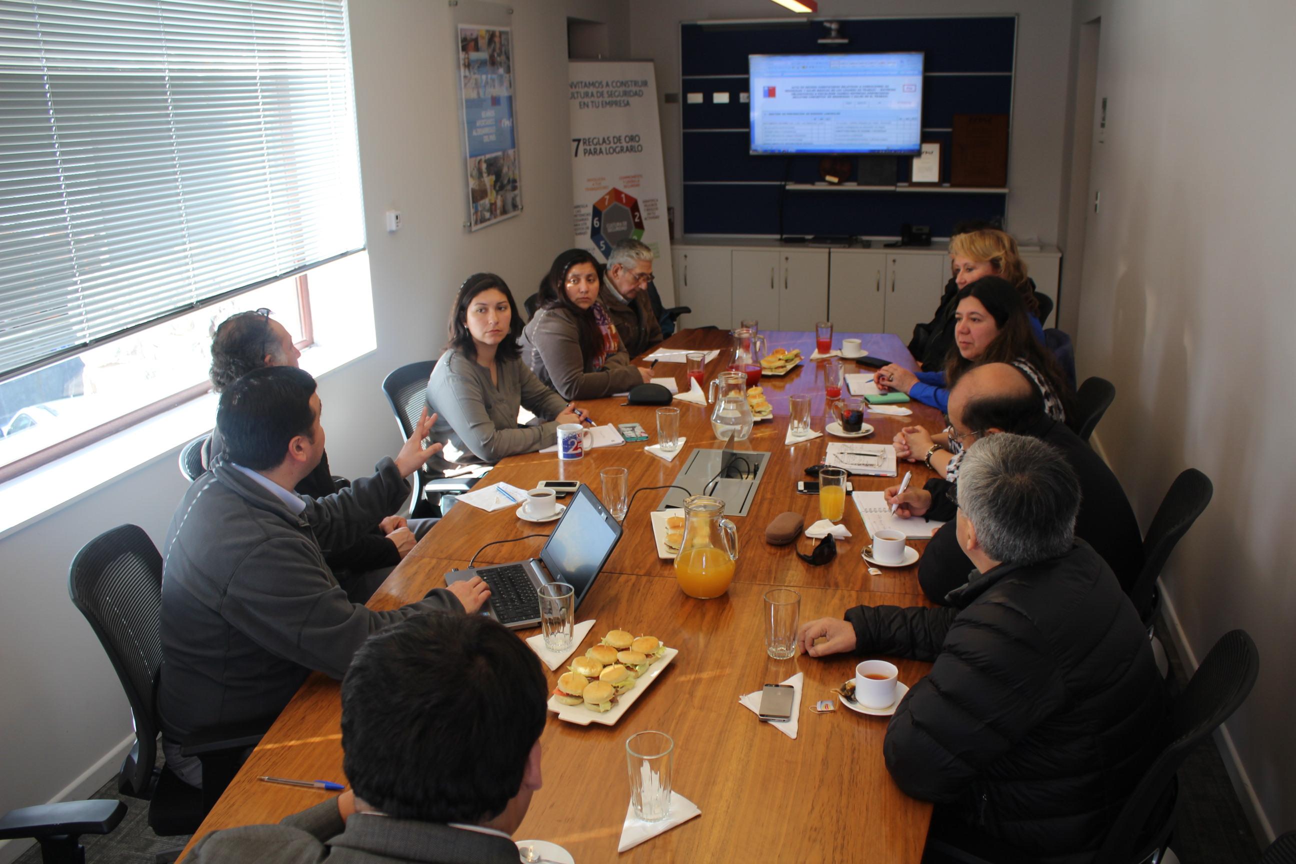 Comité de Infraestructura MOP de la CChC Coyhaiqe se Reunió con Director Regional del Trabajo noticias
