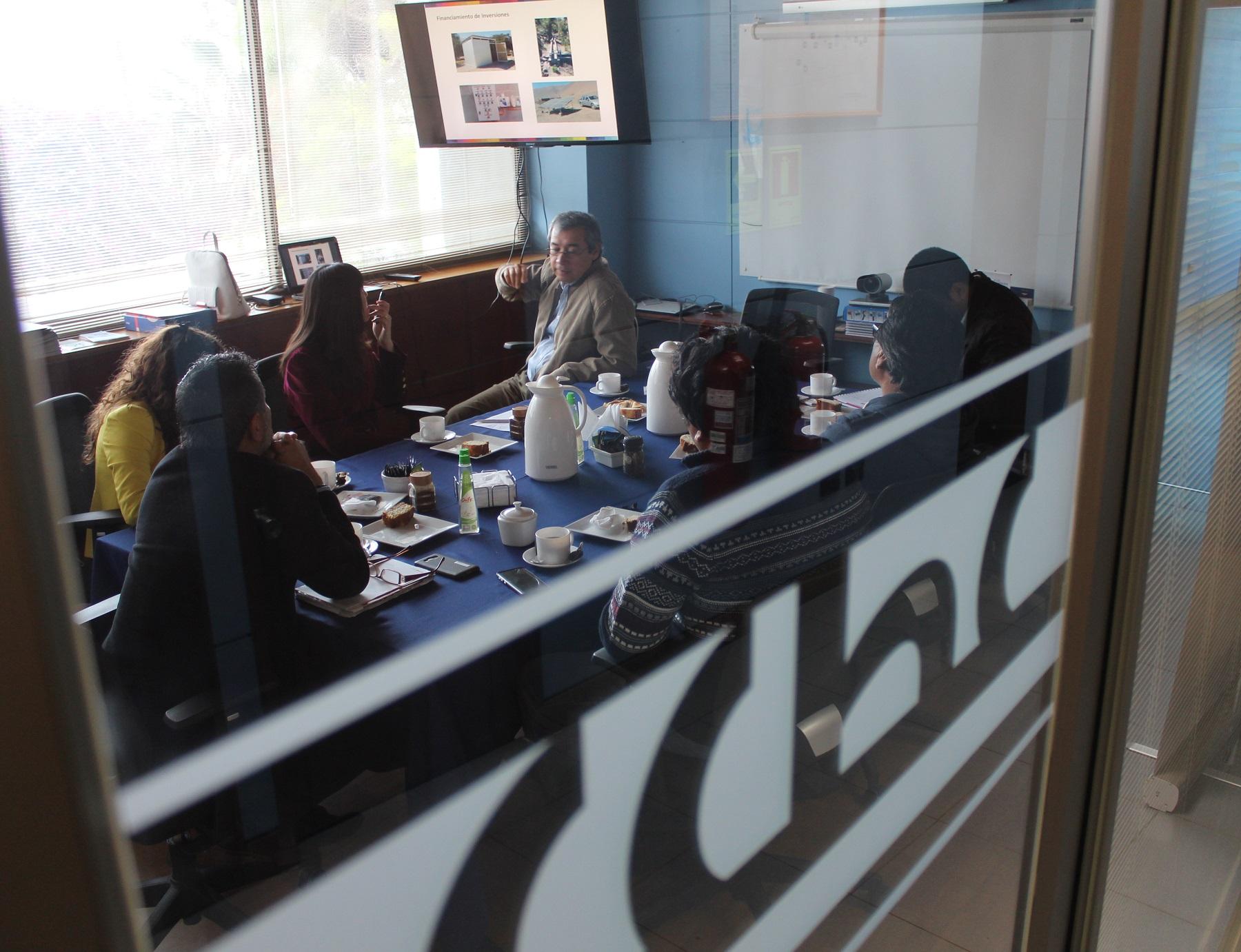 Indap expone sobre sus proyectos de <mark>infraestructura</mark> agrícola en la región noticias