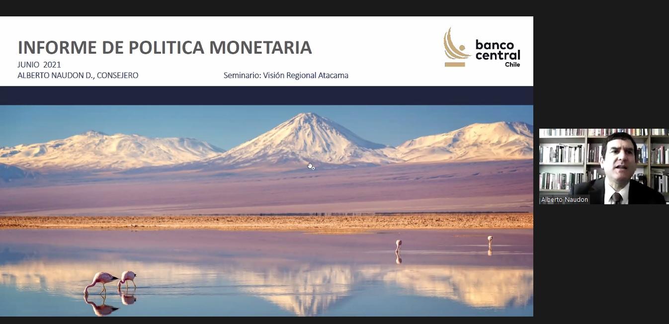 Banco Central y CChC Copiapó presentaron el Informe de Política Monetaria (IPoM) para la región de Atacama noticias