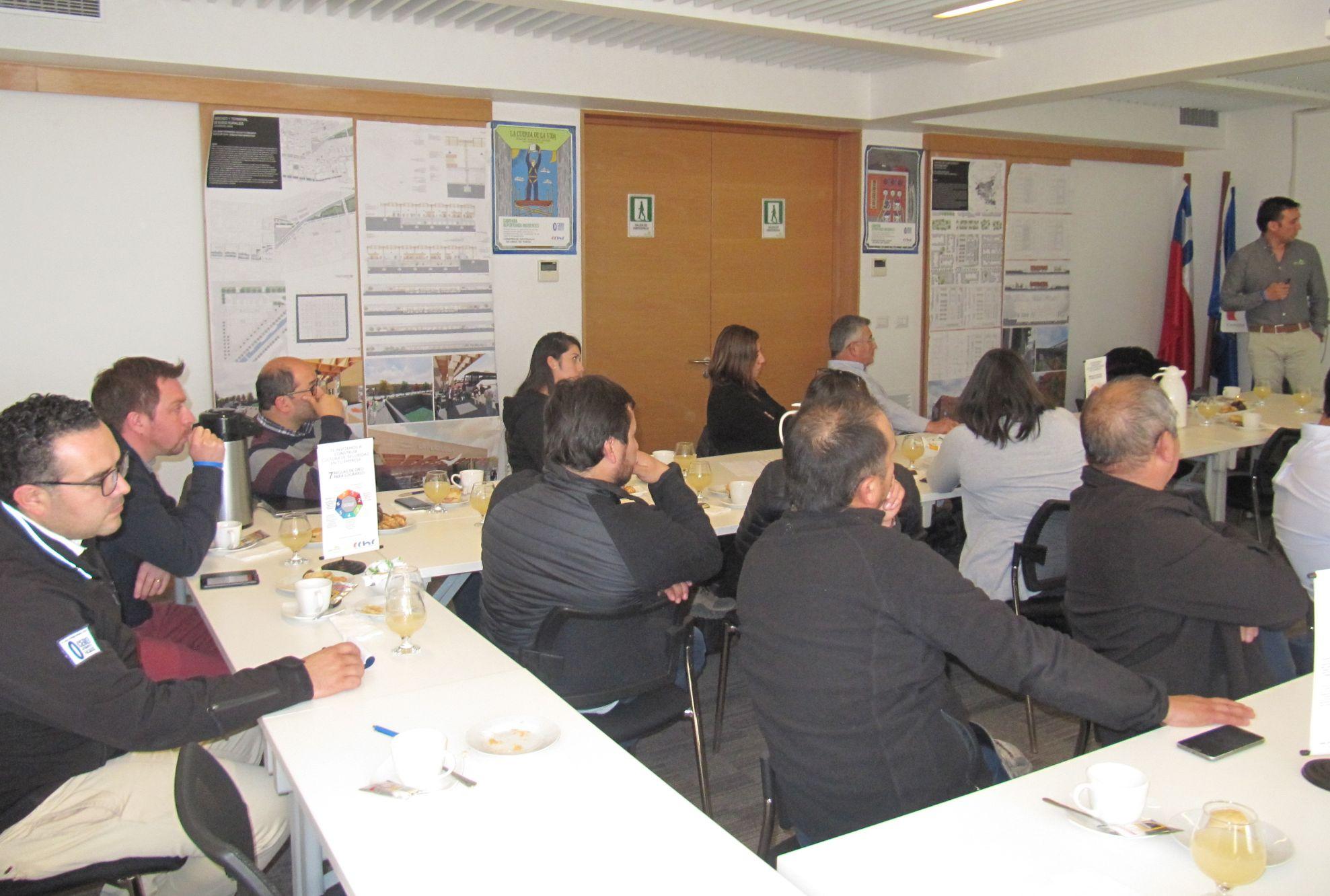 CChC Los Ángeles crea mesa de expertos para trabajar en <mark>seguridad laboral</mark> noticias