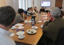 MOP expuso proyectos de <mark>infraestructura</mark> y Registro de Contratistas noticias