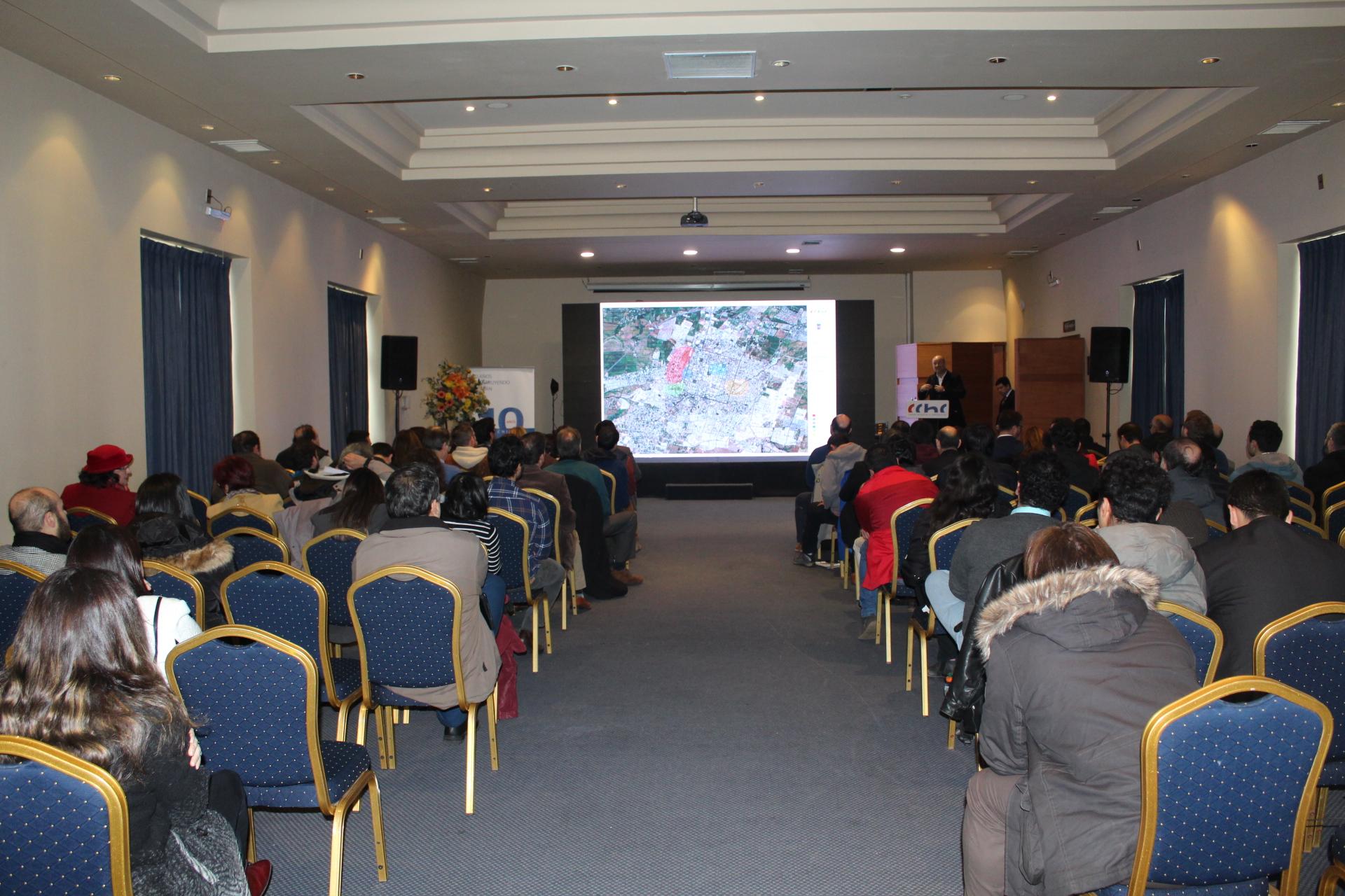 """Con gran marco de público CChC Chillán desarrolló seminario Internacional: """"Repensando la ciudad"""" noticias"""