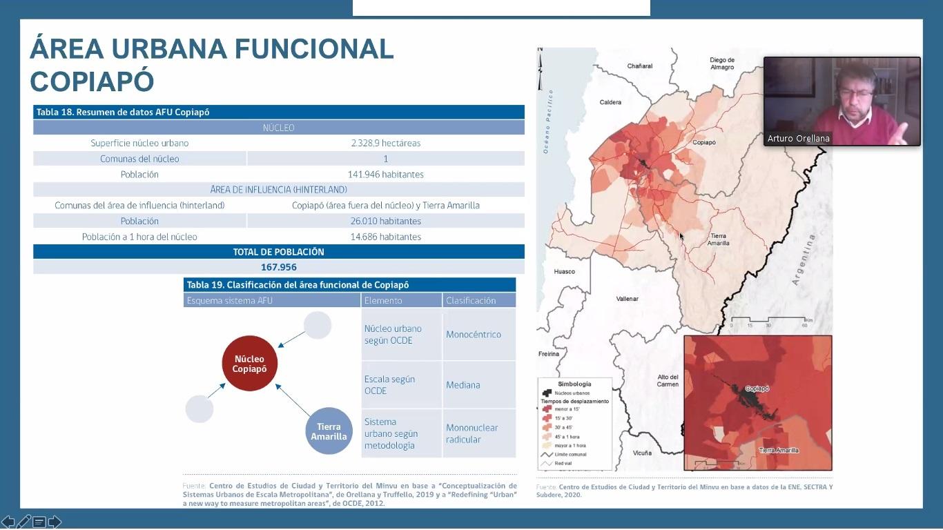 Expertos analizaron la importancia de desarrollar ciudades descentralizadas en la región de Atacama noticias