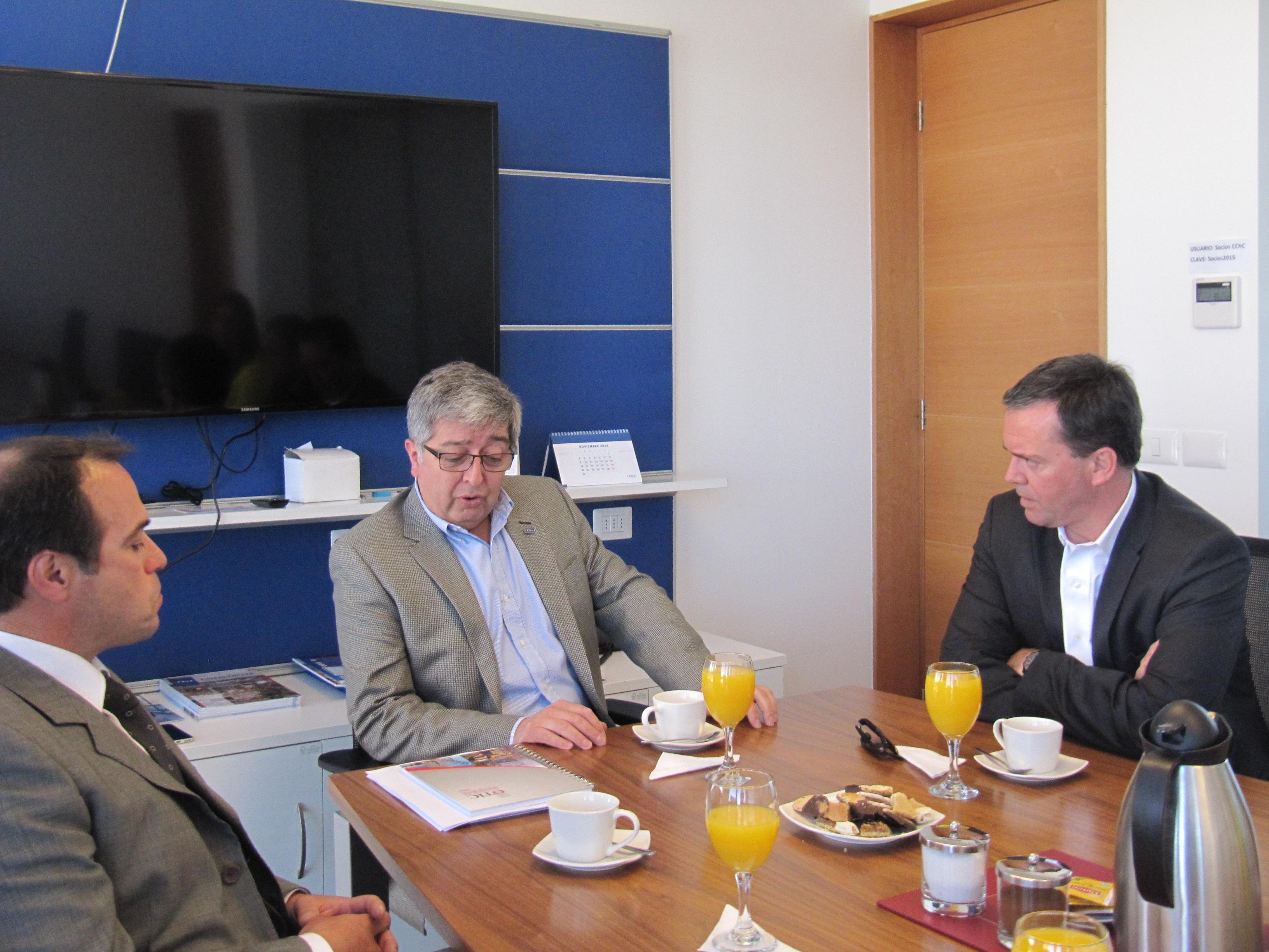 Integrantes de la MDR sostuvieron encuentro con Senador Harboe noticias