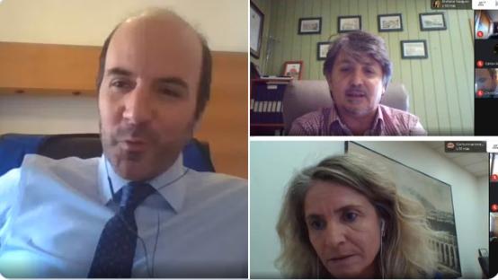 Representantes de <mark>Infraestructura</mark> se reúnen con subsecretario del MOP noticias