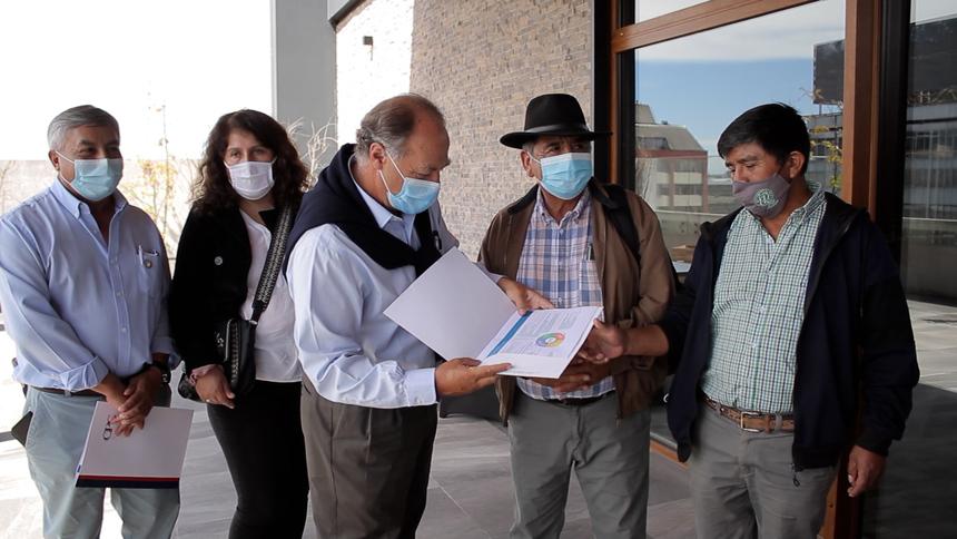 Gremios empresariales entregaron propuesta de paz para La Araucanía noticias