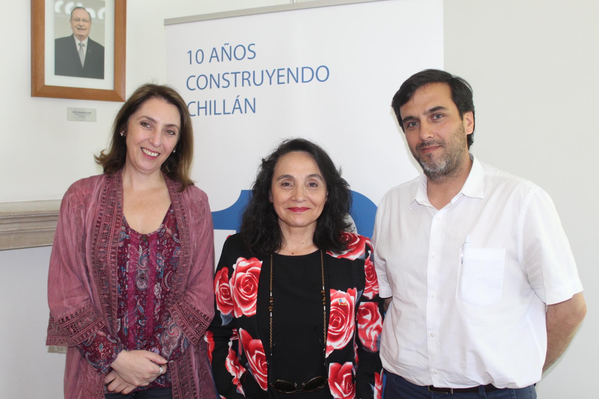 Seremi de Justicia conoció detalles de programa Cimientos de la CChC Chillán noticias