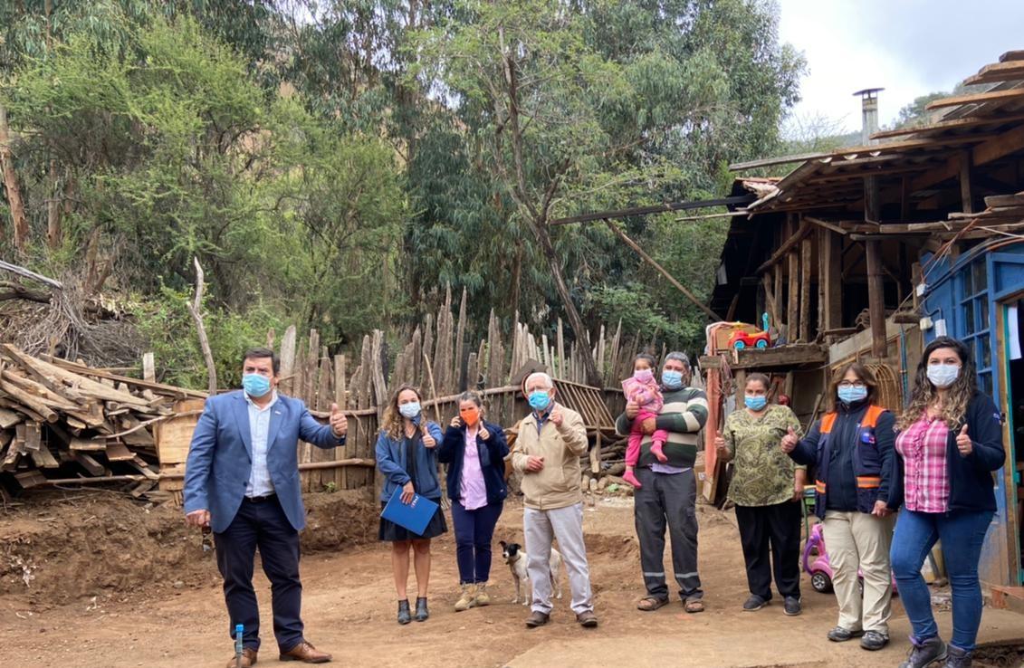 CChC Rancagua, entrega ayuda a damnificados por aluvión en la comuna de Malloa noticias