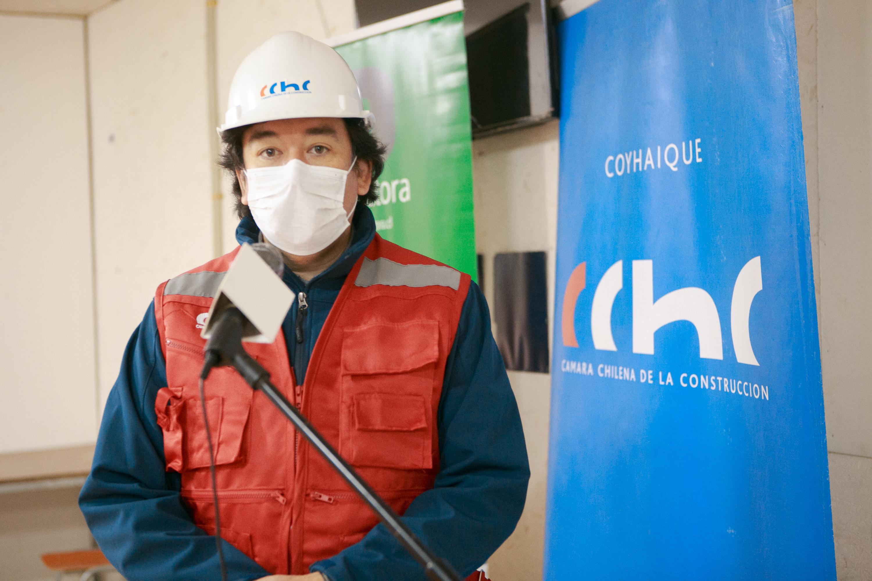 """Presidente CChC Coyhaique: """"En tiempos de pandemia no debemos aflojar las medidas de prevención ante el Covid-19"""" noticias"""