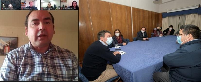 Mesa Directiva del gremio se reunió con alcaldes de Chillán y Chillán Viejo noticias