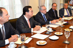 Ministro Máximo Pacheco se reunió con la CPC para abordar agenda energética  noticias