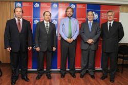 Ministro Errázuriz recibe a Mesa Directiva de la CChC noticias