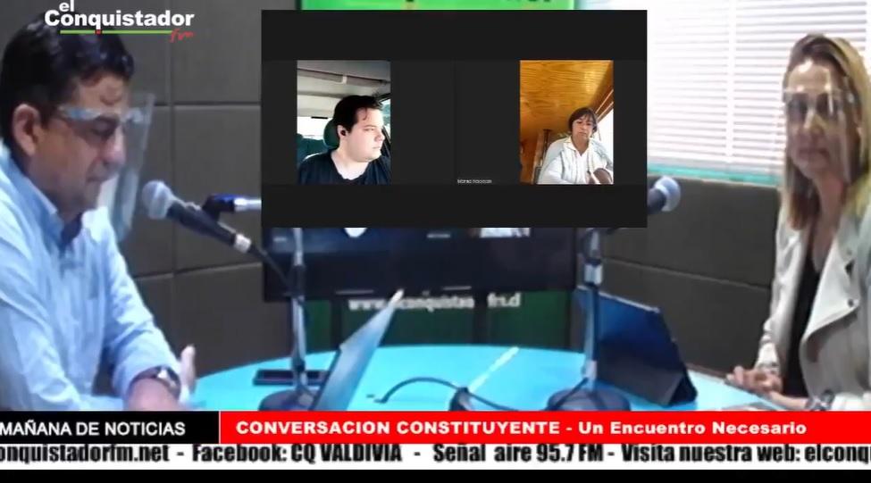 """Finaliza Ciclo Radial """"Conversación Constituyente"""" noticias"""