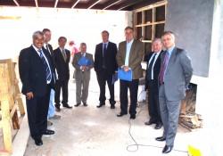 Mesa Directiva Nacional visita Obras Ampliación Delegación El Libertador noticias