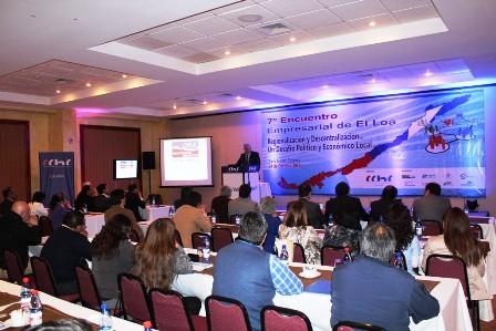 Comenzó en Calama el 7° Encuentro Empresarial El Loa 2013 noticias