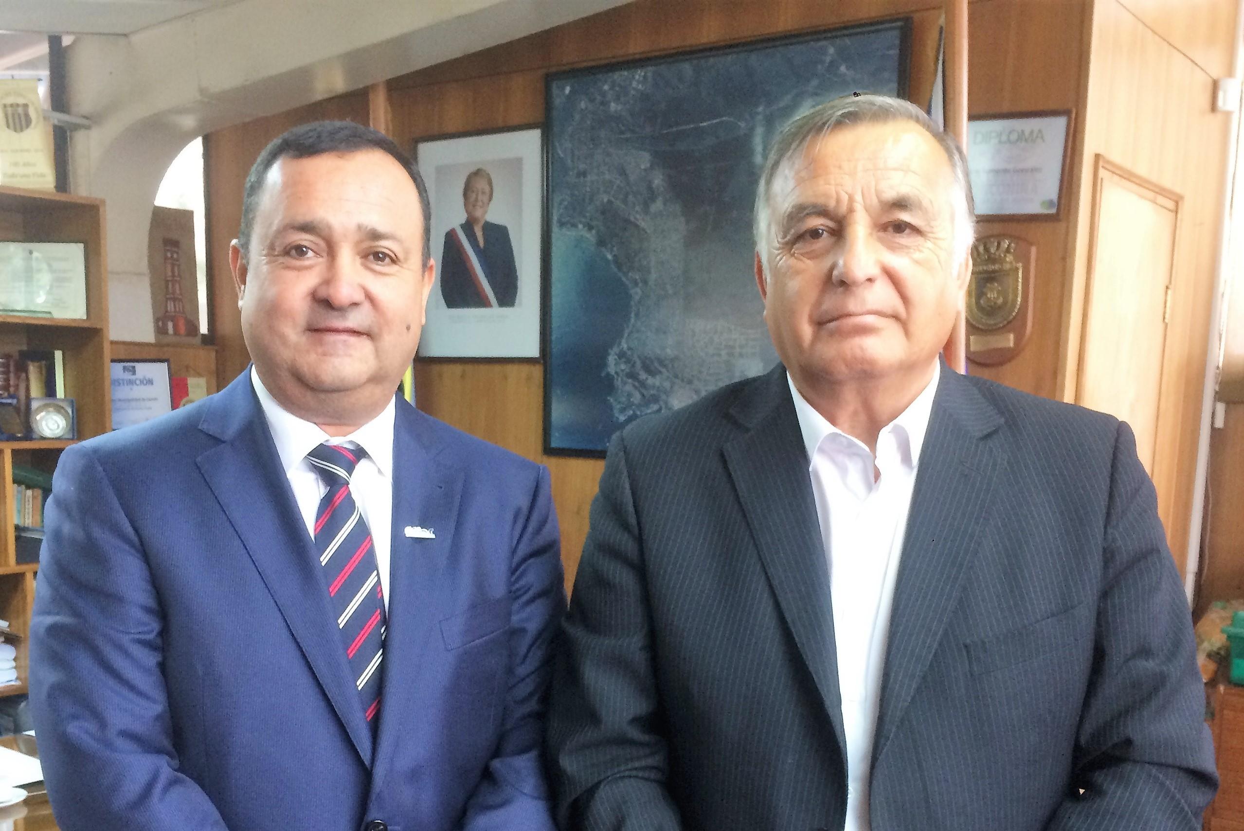 <mark>Infraestructura</mark> y desarrollo urbano fueron ejes de reunión entre CChC Valparaíso y alcalde de Concón noticias
