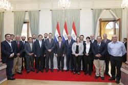 Presidente de Paraguay recibe a delegación CChC noticias