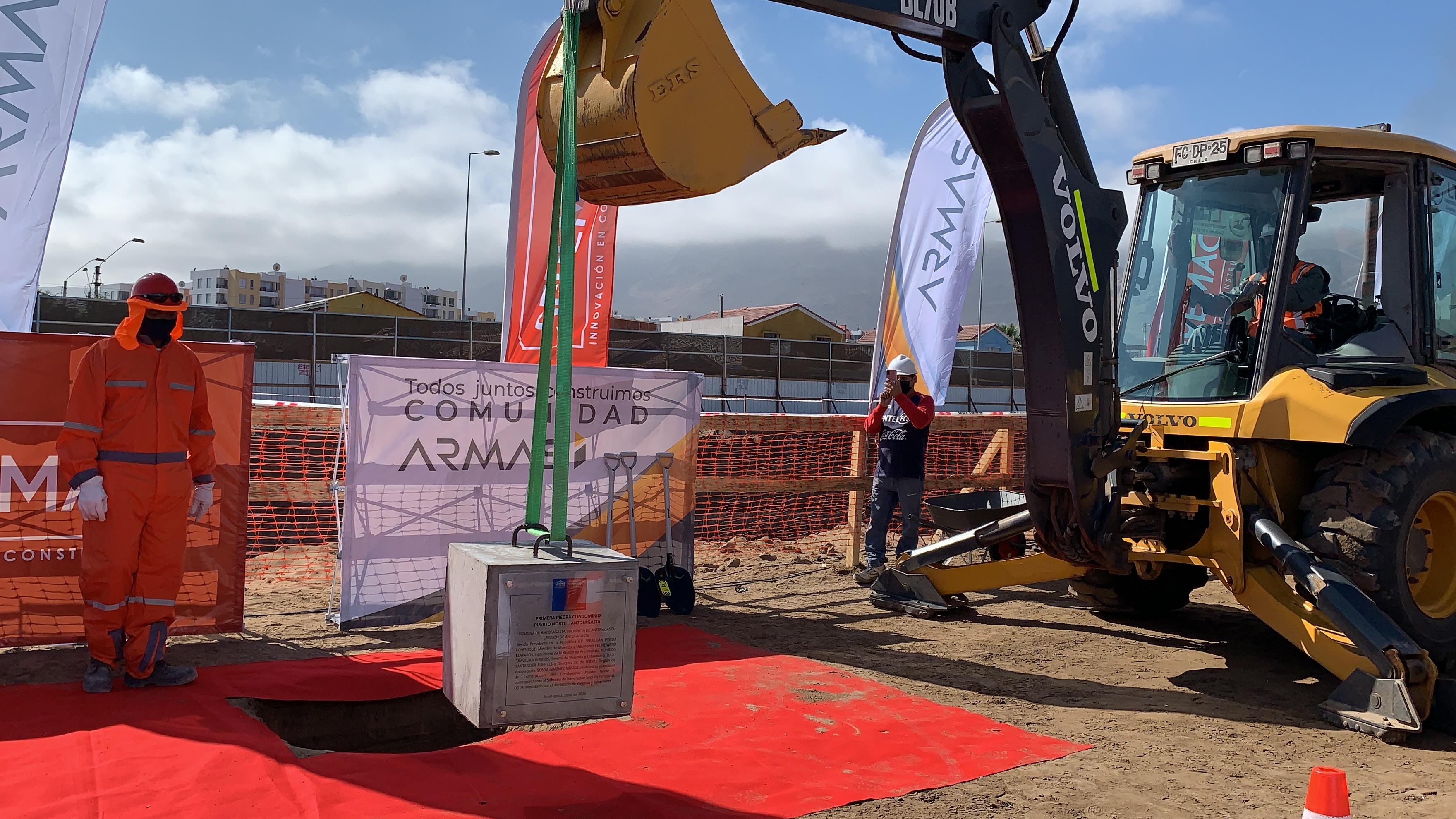 Alianza entre empresas Armas y Seremac permitirá la construcción de viviendas para 280 familias en Antofagasta noticias