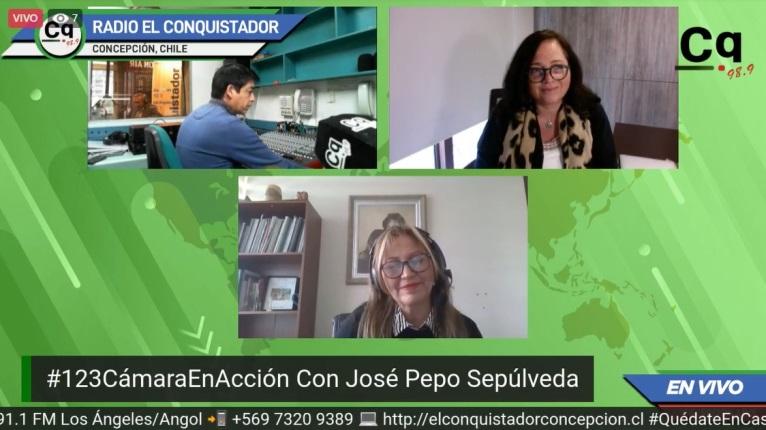 """""""1, 2, 3 Cámara en Acción"""" es el nuevo programa radial de la CChC Concepción noticias"""