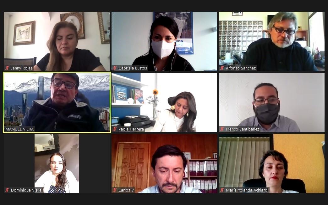 Sede Calama se vincula con la Cámara Minera de Chile noticias