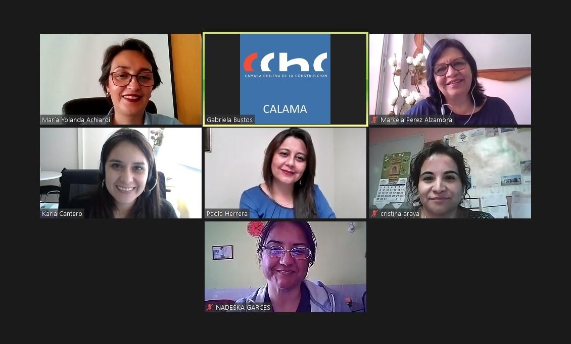 Grupo de Trabajo Mujeres se reúne con Seremi (s) Karla Cantero noticias