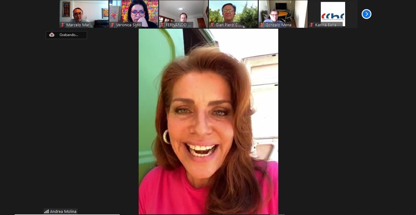 Participación, campamentos y seguridad fueron temas en reunión de MDR con candidata a alcaldesa por Viña Andrea Molina noticias