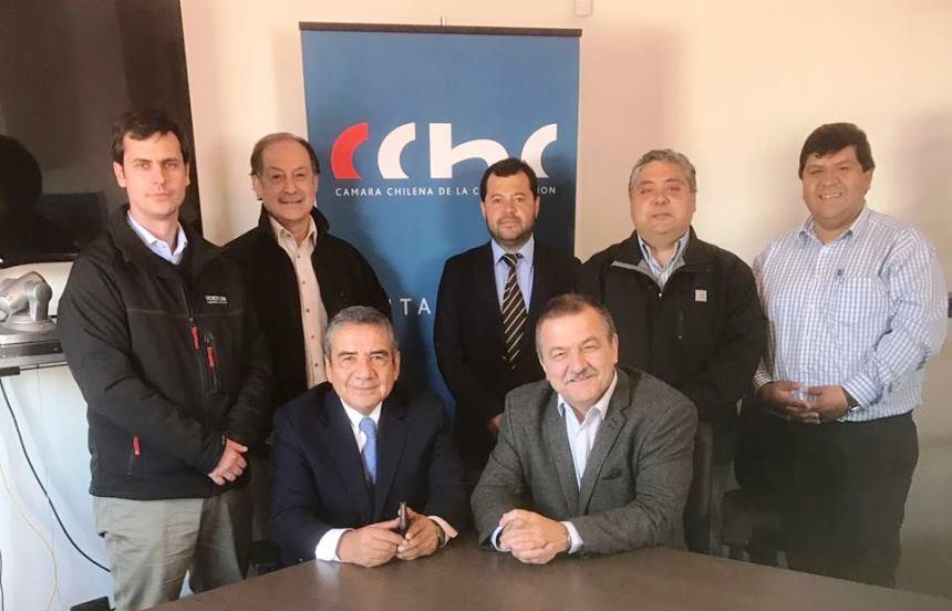 Representantes del Comité de Especialidades se reúnen con la CChC Punta Arenas noticias
