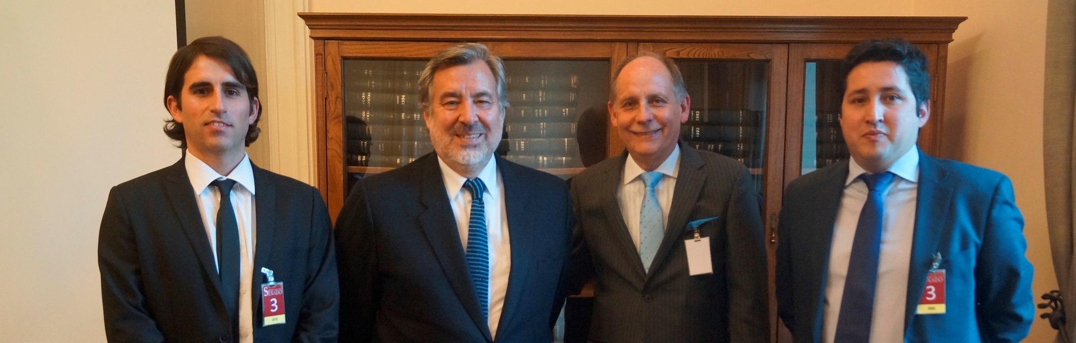 Presentan Copiapó 2050 a Senador Guillier y a representante de Codelco noticias