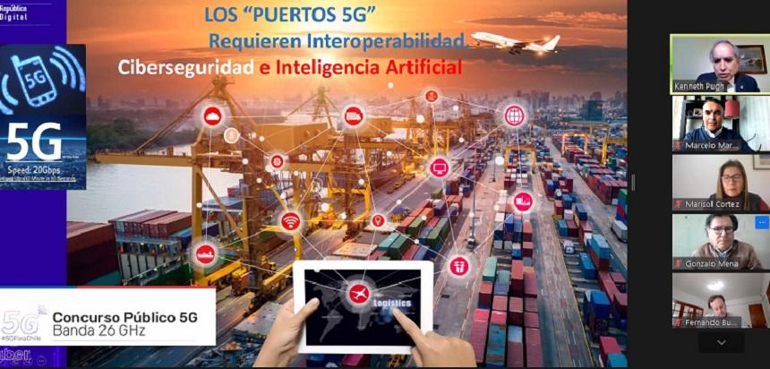 Directiva de CChC Valparaíso se reúne con senador Kenneth Pugh para promover digitalización del Estado y reactivación económica noticias
