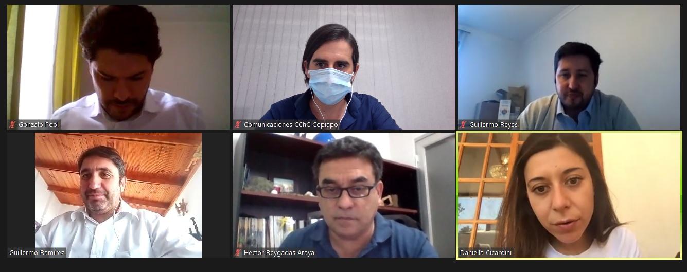 CChC Copiapó y diputada Daniella Cicardini conversan sobre la consolidación de un Ecosistema Regional en Atacama noticias